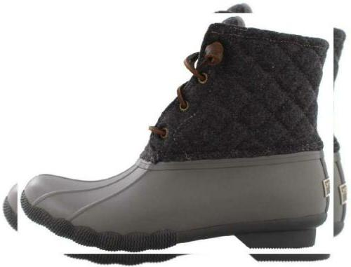 women s saltwater quilted wool grey 8
