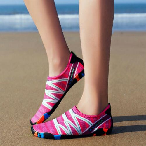 Women Summer Beach Water Shoes Pool Aqua Socks Slippers For