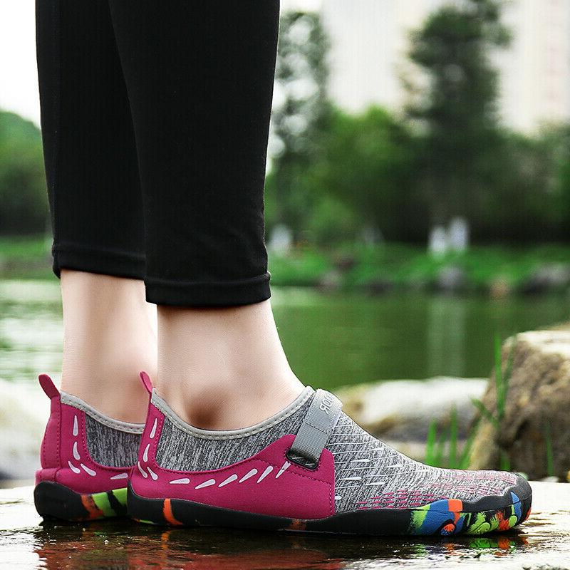 Womens Water Shoes Beach Swim Shoes Quick-Dry Barefoot Light