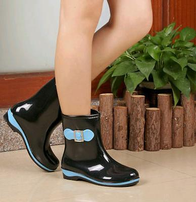 Women Boot Ladies Rubber Boots Ankle Boots