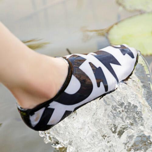 Womens Water Shoes Socks Beach Exercise US