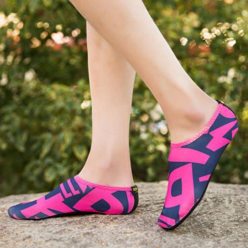 Womens Water Skin Shoes for Beach Swim Yoga Exercise