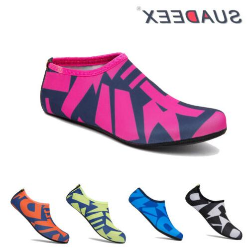 womens barefoot water skin shoes aqua socks