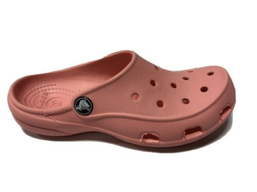 womens freesail pink clogs size 5m water