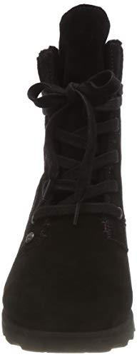 BEARPAW Womens Toe Cold Weather Boots, Black Size 8.0