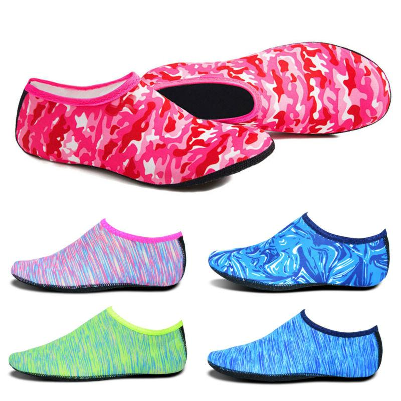 womens mens barefoot water skin shoes quick