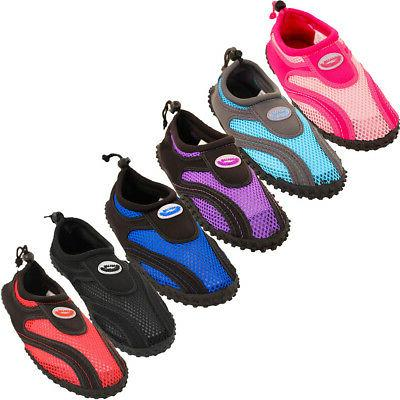 womens water shoes aqua socks slip on