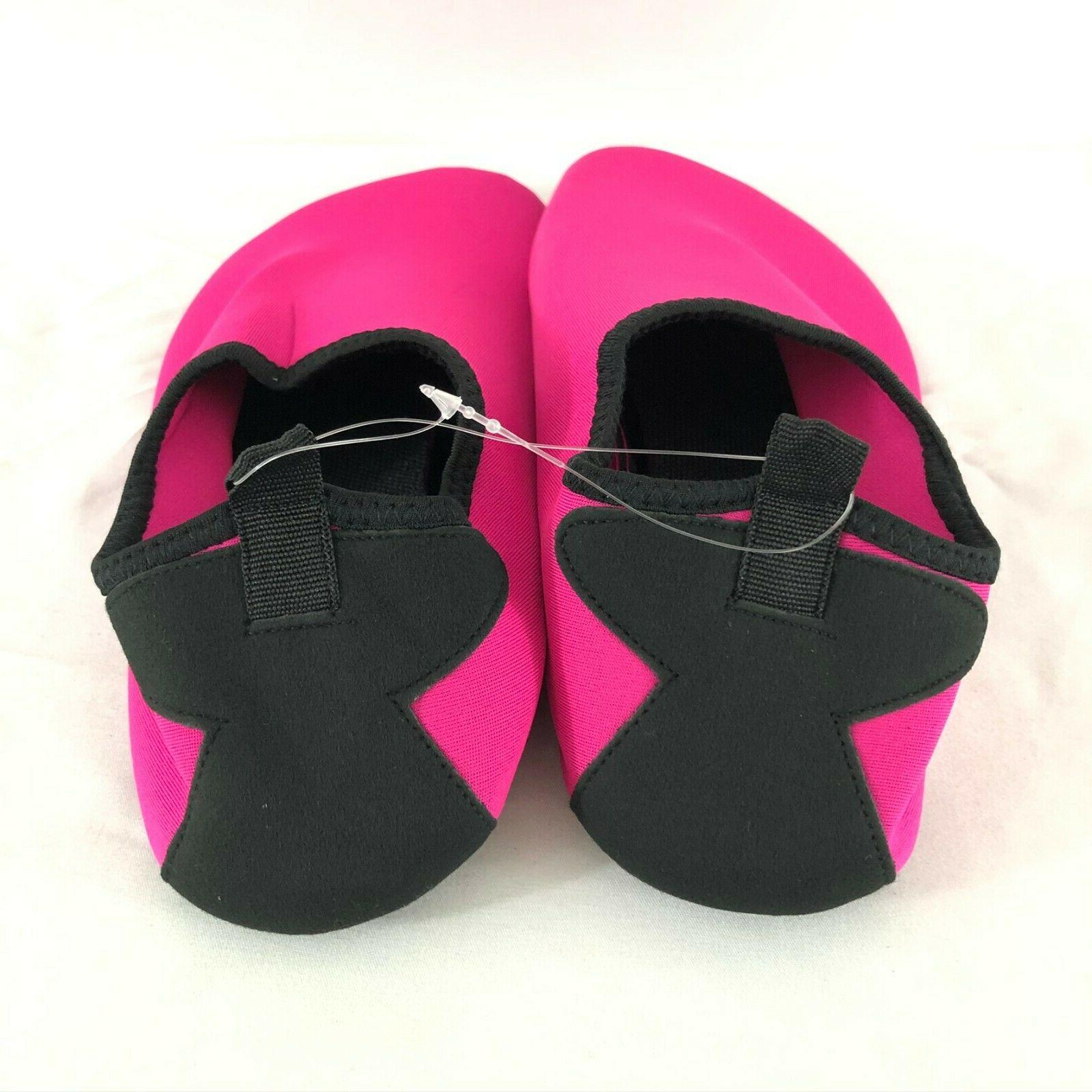 Womens Shoes Slip On Hot Pink Size 38/39 US 7/8