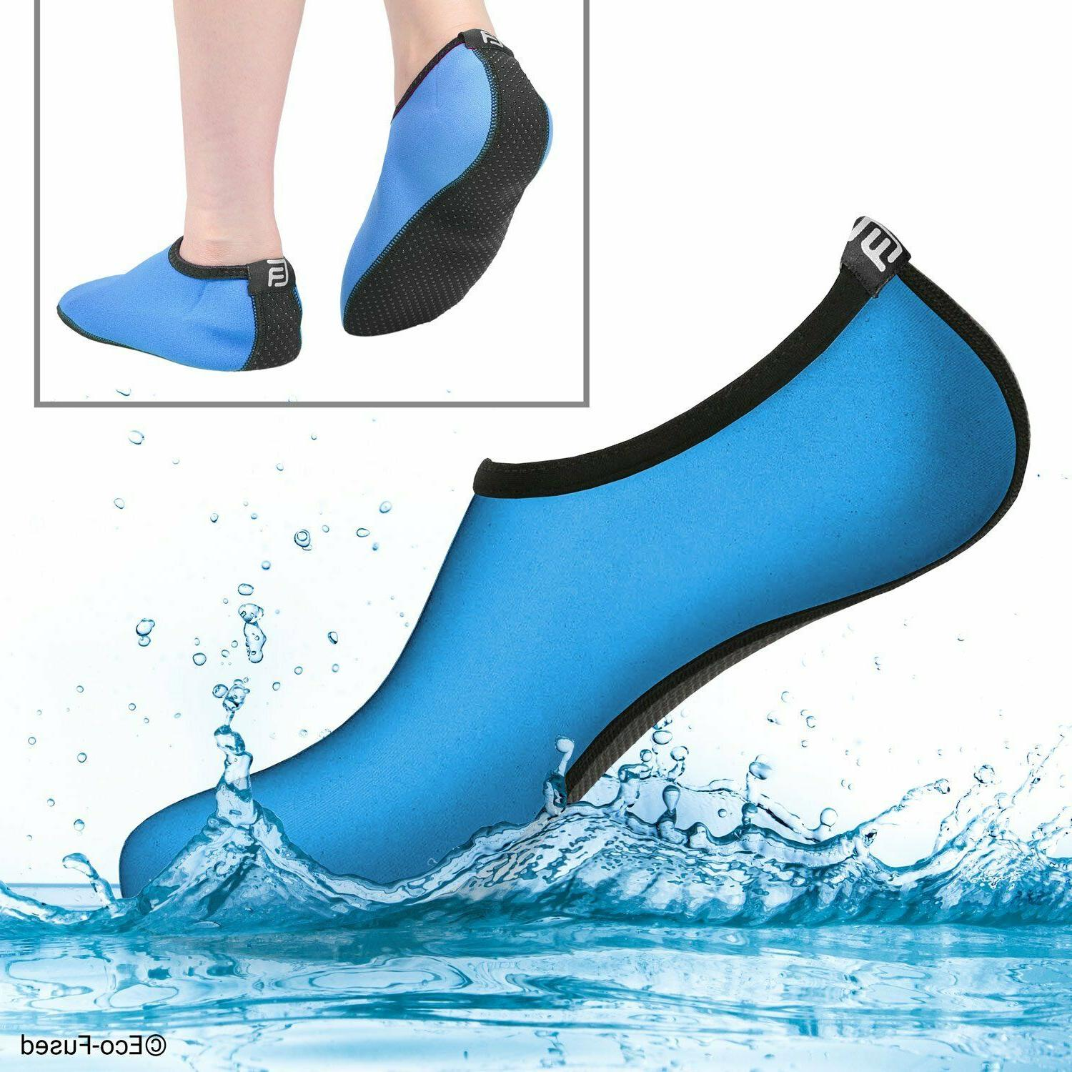 Womens Water Shoes Elastic Non Rubber