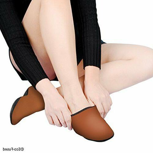 Womens Water Shoes Elastic Fabric Non