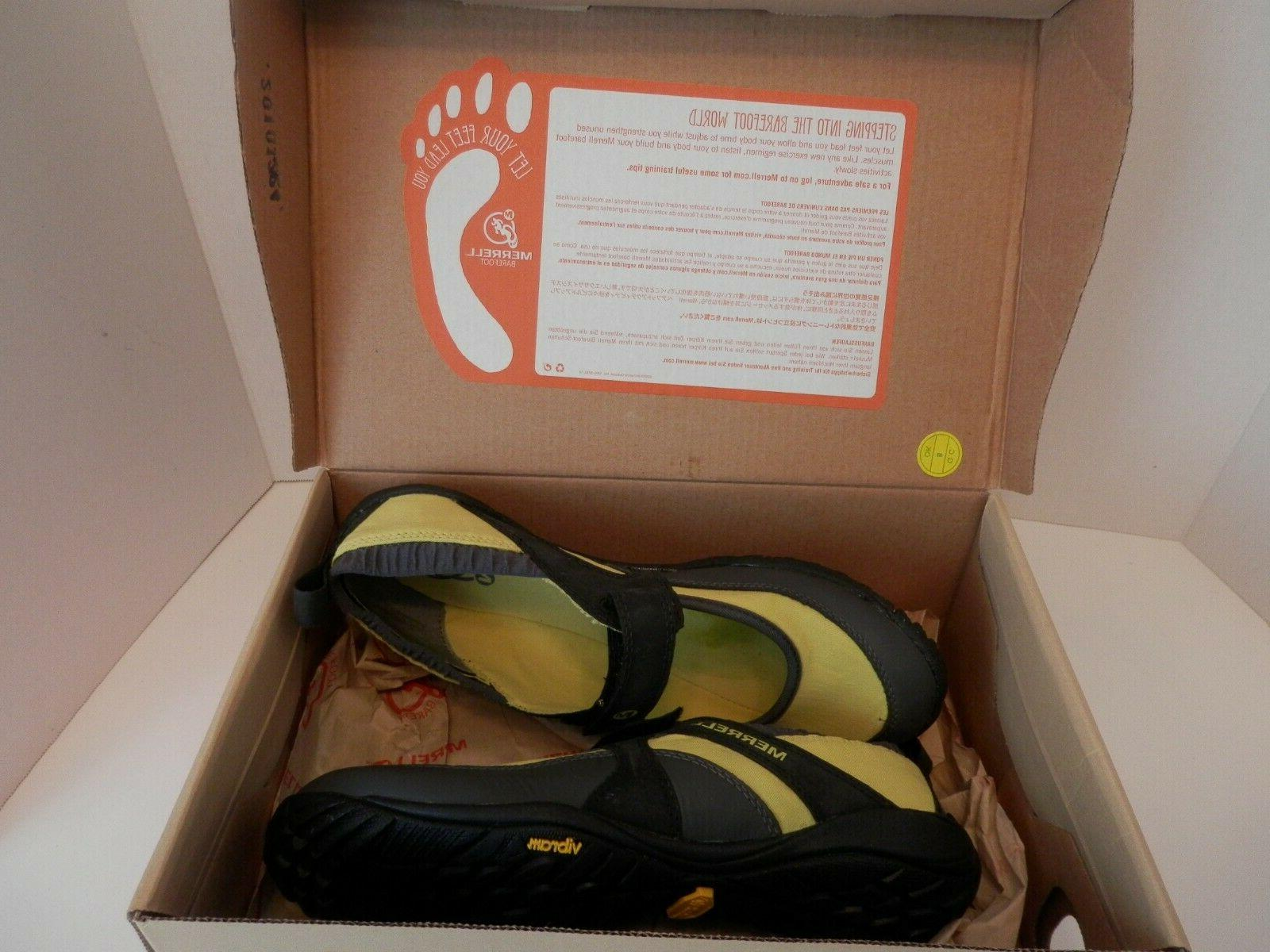 Merrell Yellow/Black Pure Water Shoes-NIB-Womens