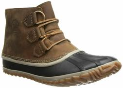 Women's Sorel 'Out N About' Leather Boot, Size 11 M - Brown