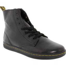 Dr. Martens Women's Leyton Black Ankle-High Leather Boot - 9