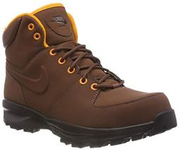 NIKE Men's Manoa Leather Boot Fauna Brown Size 8.5 M US