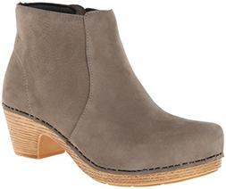 Dansko Women's Maria Boot, Taupe Milled Nubuck, 40 BR/9.5-10