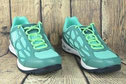 megavent fly water shoes mint green white
