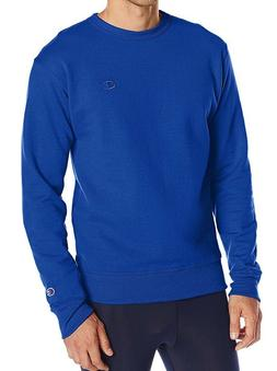 Champion Men's Powerblend Pullover Sweatshirt, Surf the Web,