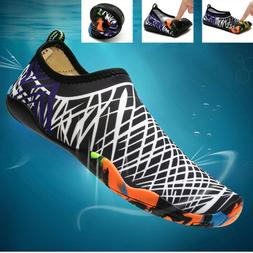 Men Water Shoes Barefoot Aqua Socks Quick-Dry Beach Swim Spo