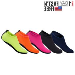 Men Women Aqua Water Shoes Swim Surf Yoga Sports Beach Exerc