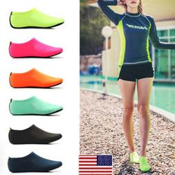 Men Women Barefoot Water Skin Shoes Kids Swim Beach Surf Spo