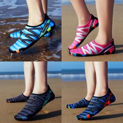 Men Women Quick-Dry Water Shoes Comfort Barefoot Aqua Socks