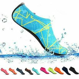 Men Women Water Shoes Quick Dry Barefoot for Yoga Swim Surf