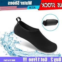 Men Women Water Shoes Barefoot Skin Quick-Dry Aqua Beach Wat