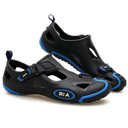 mens women hollow breathable bathing sandals pool