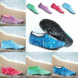 Mens Women  Water Shoes Barefoot Aqua Socks Quick-Dry Beach