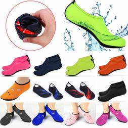 Mens Womens Water Shoes Barefoot Aqua Diving Socks Quick-Dry