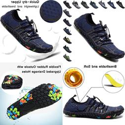Mens Womens Water Shoes Barefoot Quick Dry Sports AQUA Socks
