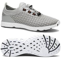 Tianyuqi Womens Mesh Slip On Water Shoes