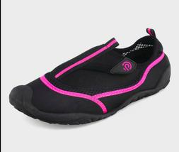 New C9 Champion Lucille Water Shoes Womens Black & Pink Size