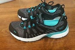 NEW Ryka Hydro Sport 2 Women Water Shoe Lace Up Black Vented