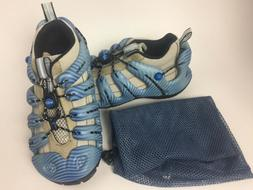 NEW Mion Womens Hiking Water Shoes Sonic Blue Tide Size 5 Ke