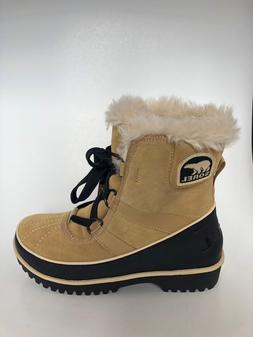 NEW Sorel Womens Water Proof Tivoil II Boots Curry SIZE 6