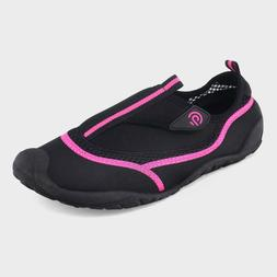 NWT Women's Lucille Water shoes - C9 Champion Black & Pink