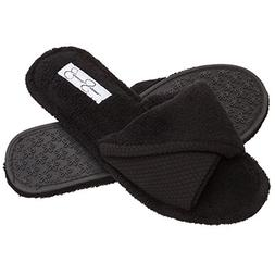 Jessica Simpson Open Toe Scuff House Slippers, Womens Indoor