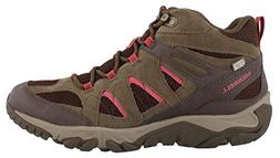 Merrell Women's Outmost Mid Vent Waterproof Hiking Boot, Can