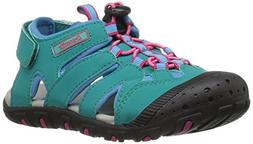 Kamik Girls' Oyster Water Shoe, Teal, 1 M US Little Kid