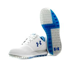 Under Armour Performance Spikeless Storm Water Repel Grey Wh