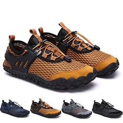 Bridawn Men Women Quick Dry Barefoot Hiking Water Shoes for