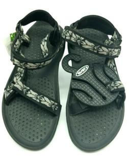 Teva Sandals Women's  Black Hiking Trail Water Shoes Sandals