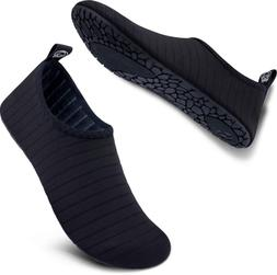 SIMARI Womens and Mens Water Shoes Quick-Dry Aqua Socks Bare