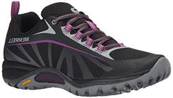 Merrell Women's Siren Edge Shoe, Black/Purple, 6.5 M US