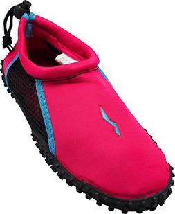 NORTY - Girls Skeletoe Aqua Water Shoes for Pool Beach, Surf