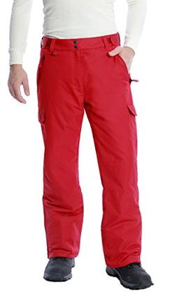 Men's 1960 Snow Sports Cargo Pants, Large, Vintage Red
