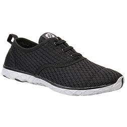 ALEADER Women's Stylish Quick Drying Water Shoes Black 10 D