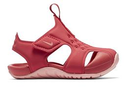 NIKE Girl's Sunray Protect Sandal, Tropical Pink/Bleached Co