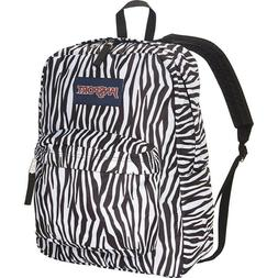JANSPORT SUPERBREAK BACKPACK Blue Streak CLO Hearts White NW